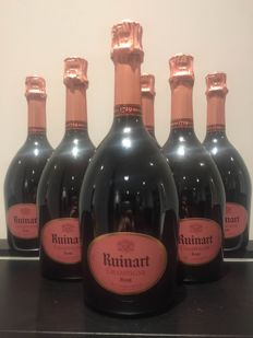 Ruinart Rosé NV - 6 bottles (75cl)