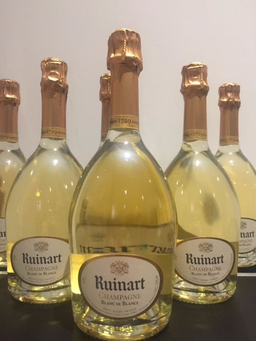 Ruinart Blanc de Blancs NV - 6 bottles (75cl)