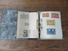 Austria - album with 261 emergency (55 series) currency notes 1918-1922