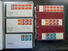 The Netherlands - Batch of stamp booklets with corresponding FDCs and miscellaneous