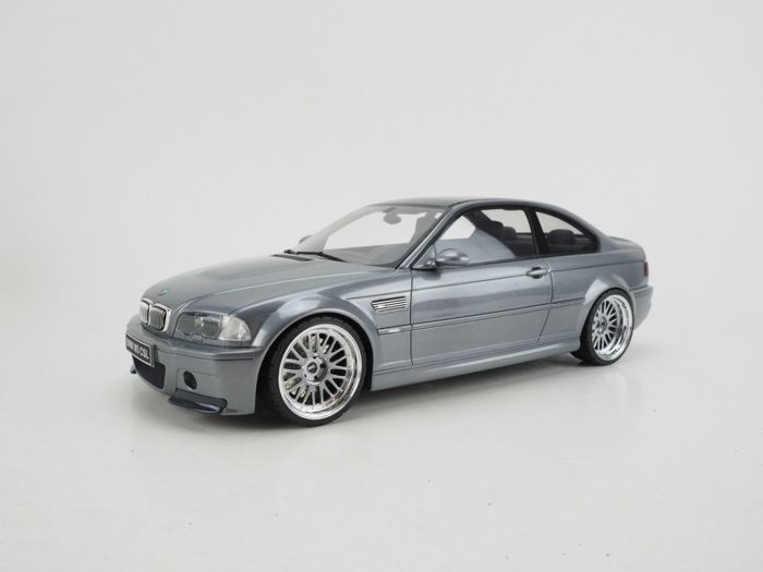Otto Models - Scale 1/18 - BMW E46 M3 CSL - Grey