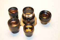 Various lenses see photos and information