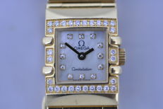 Omega - Omega constellation quadra mini - 11367600 - Dame - 2000-2010