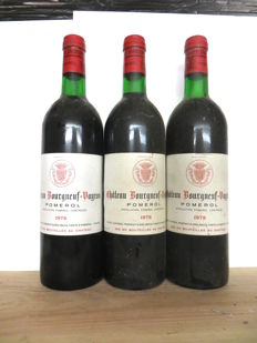 1978 Pomerol Château Bourgneuf Vayron x 3 bottles