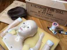 Rare Vintage Handmade Doll by the famous Islington Dollmakers (London)