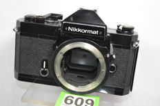 Very nice heavy Nikkormat FT2 camera black body