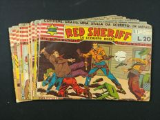 Red Sheriff - a complete series 1/16 - bound (1950-51)
