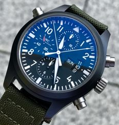 IWC - Pilot's Double Chrono Limited Edition of 1,000 - IW378601 - - 1990-1999