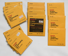 15 sheets Kodak 75x75mm Color Compensation Optical Gelatin type Filter