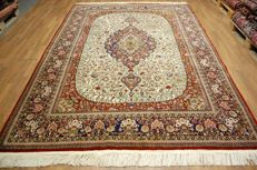 TOP CONDITION HEREKE CARPET TURKEY approx. 310 x 220 cm