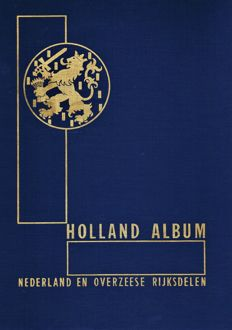 Netherlands and Overseas 1872/2009 - Collection and batch in 4 albums/stock books