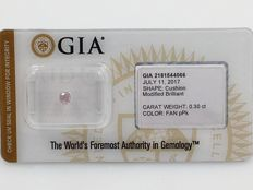 0.30ct GIA Natural Fancy Purplish Pink Even Diamond - NO RESERVE