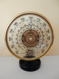 """JAEGER"" - Very rare vintage barometer and thermometer - 1940 - with bakélite foot - Very beautiful - France"