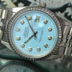 Rolex Oyster Perpetual DateJust Steel Mens Watch Ref# 16000