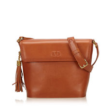 Valentino - Leather Shoulder Bag