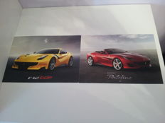 Ferrari postcards