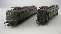 Roco H0 - 4143/43429 - Two electric locomotives BR 116 and BR 150 of the DB