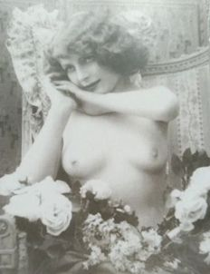 Postcards; Lot of 41 photocards with nude models from before the pin-up era - 1970 / 1980 s