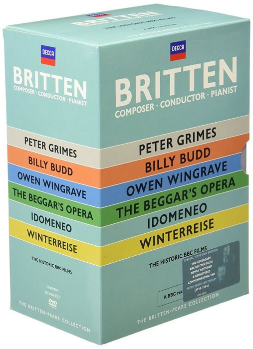 Various Artists - The Britten Pears Collection - 6DVD Boxset / A collection of Benjamin Britten's operas taken from the BBC archives