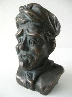 Sculpture - bronze gaper