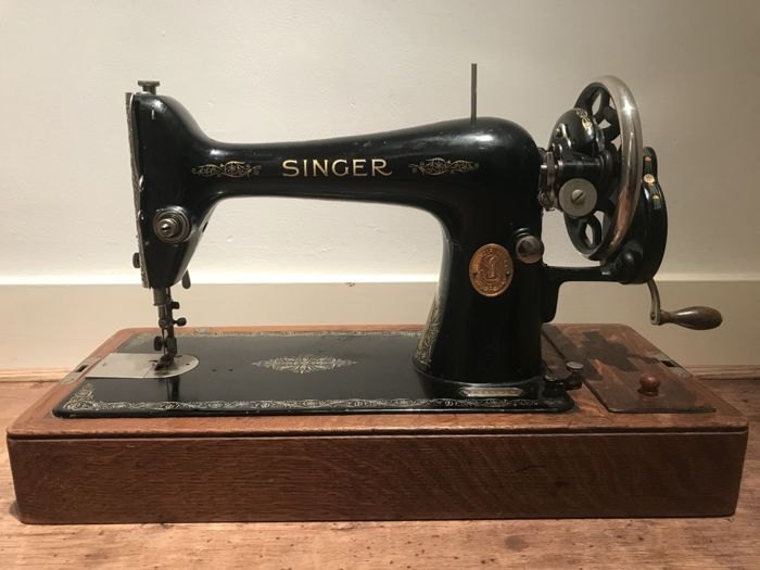 Singer 40 K Sewing Machine With Wooden Dust Cover 40 Catawiki Simple Singer Sewing Machine 66