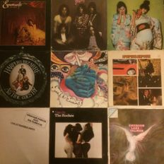 Lot of 11 albums - Psychedelic Rock - Prog Rock: Sparks, The Roches, ELP, Harpers Bizarre, sweet smoke and more