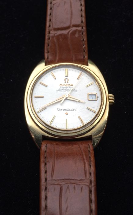 Omega – Constellation Officially Certified Chronometer  – 168.017 – Men – 1960-1969