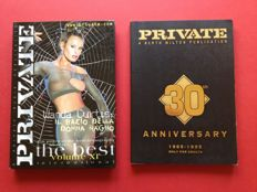 Pornography; Lot with 2 Private photobooks - 1995/1998