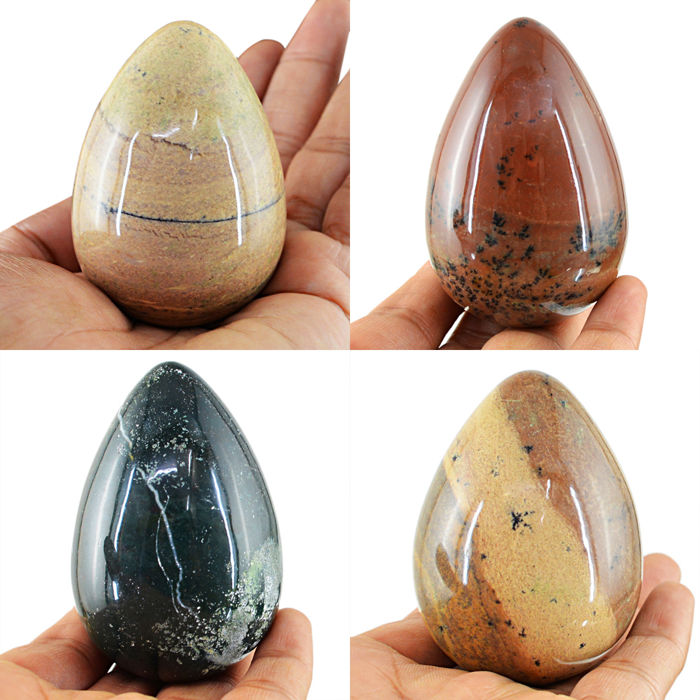 Top Quality Hand Carved Easter egg - 4 pcs