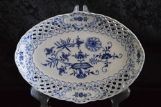 Meissen Blue Onion Pattern Dish