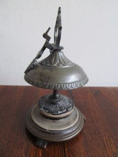 Late Victorian French Hotel bell with mark - France - circa 1880