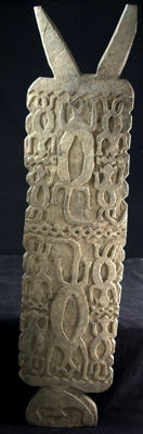 Wide carved trapdoor - Atoni - West Timor, Indonesia