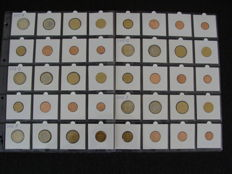Germany - Year pack 2012 A, D, F, G, J (40 coins)