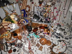 Large collection more than 240 pieces of jewelry and other very nice collectibles.