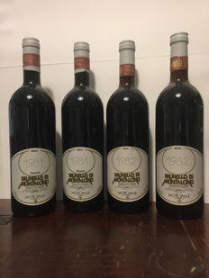 Mastrojanni Brunello di Montalcino: 2x 1981 & 2x 1982 - 4 bottles in total