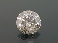 1.02 ct top light brown diamond ** no reserve price **