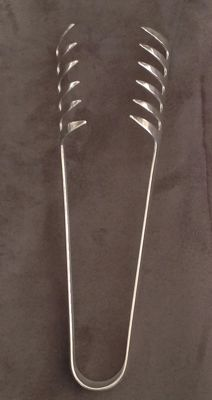 Spaghetti tongs - CHRISTOFLE - 1960s