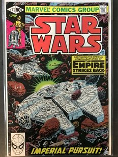 Collection Of Vintage Star Wars Comic - Marvel Comics - x 17 SC Comics