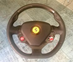 Ferrari California steering wheel, leather and carbon