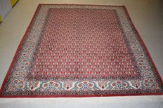 Persian rug Qom/Ghum 1950/1970 - wool on silk on cotton - approx. 230 x 175 with certificate of authenticity, new condition