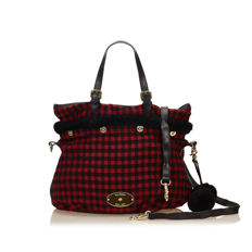 Mulberry - Wool Tote Bag