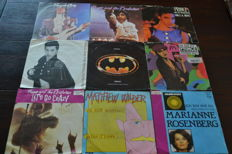 45 singles of the 70's, 80's and 90's  in NM Quality