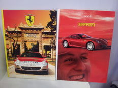 Official 2005 Ferrari Yearbook and official 2006 Ferrari Yearbook