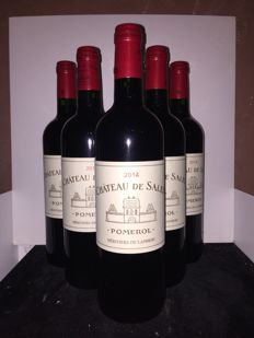 2014 Chateau de Sales Pomerol - 6 bottles (75cl)