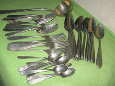 Nickel silver cutlery