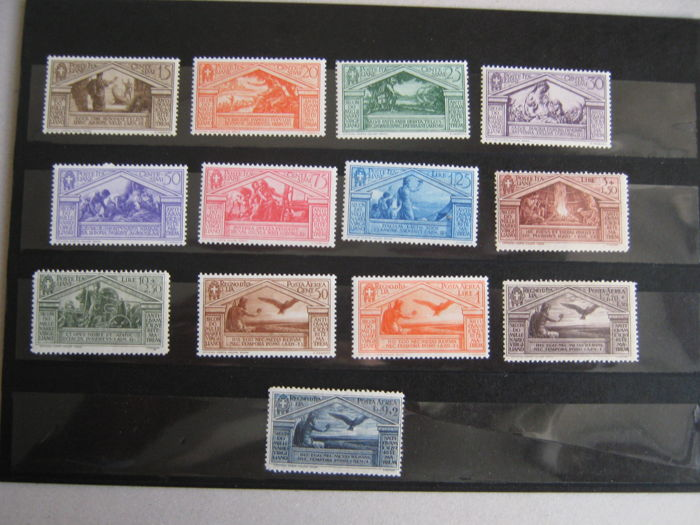 Kingdom of Italy, 1930 - 2,000th Anniversary of Virgil's Birth + Other