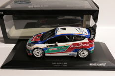 Minichamps - Scale 1/18 - Ford Fiesta RS WRC Presentation - Limited Edition 1.002 pieces