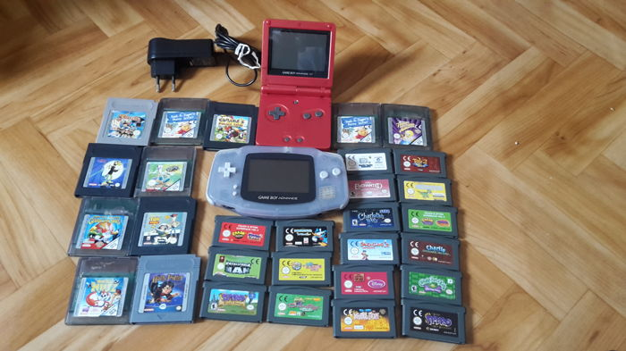 gameboy advance and gameboy advance sp with 29 games catawiki