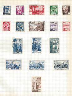 British Commonwealth - Collection on Album Pages