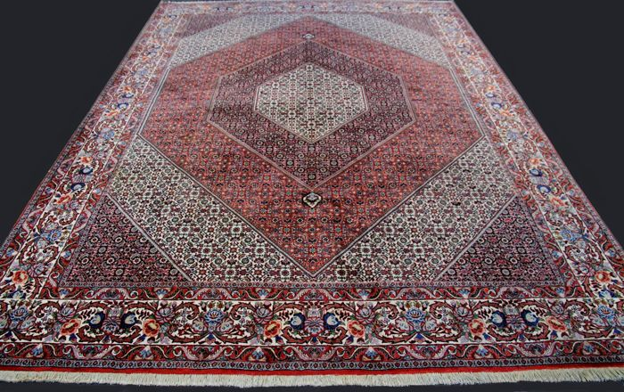 Genuine Bidjar Takab Bukan, Iran (Persia), app. 334 x 259 cm , 8.5 m², handmade, approx. 500,000 knots/m² - Second half of the 20th century.
